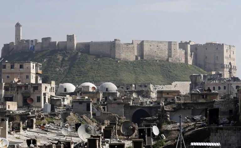 صورة محافظ حلب: ماضون في إزالة كل مخلفات الإرهاب