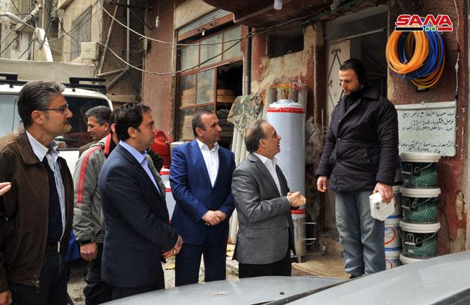 Photo of خميس لأعضاء مجلس محافظة دمشق: كفانا مماطلة وتقصيراً وخللاً