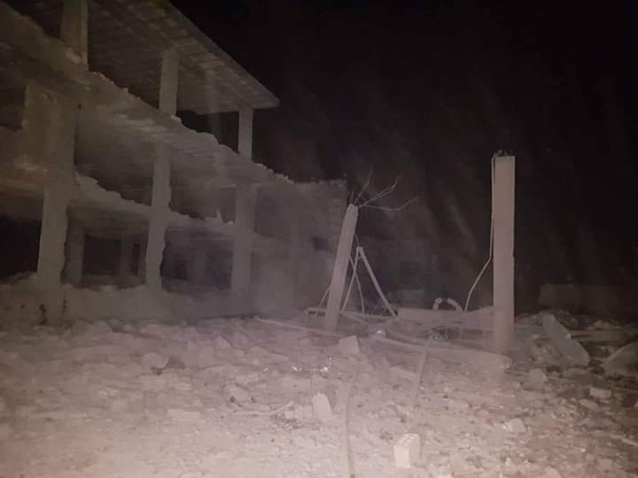 "Photo of عدوان ""إسرائيلي"" على مصياف يخلف 3 جرحى وأضرارا مادية"