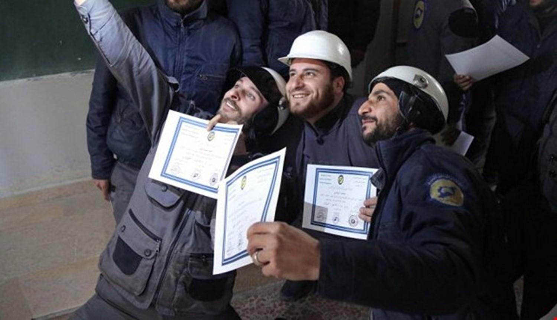 """Photo of مقتل 3 من إرهابيي """"الخوذ البيضاء"""" أثناء نقلهم شحنة متفجرات بريف حماة الشمالي الغربي"""