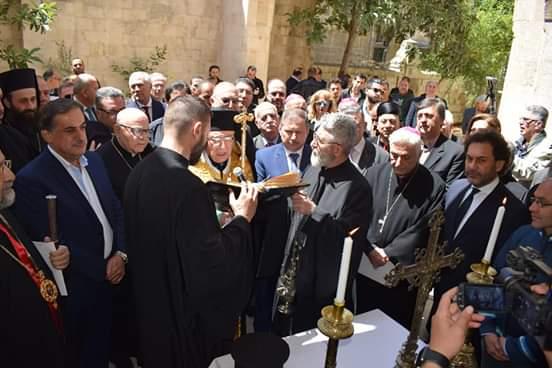 """Photo of البطريرك العبسي يدشن كاتدرائية """"السيدة"""" للروم الكاثوليك ودار """"باسيل"""" في حلب"""