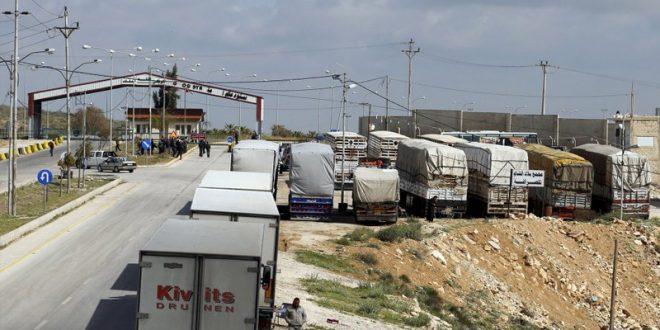 صورة النقل توضح.. إنهاء إعفاء الشاحنات من الرسوم جاء تحسباً لأي تشغيل مرتقب إلى سورية