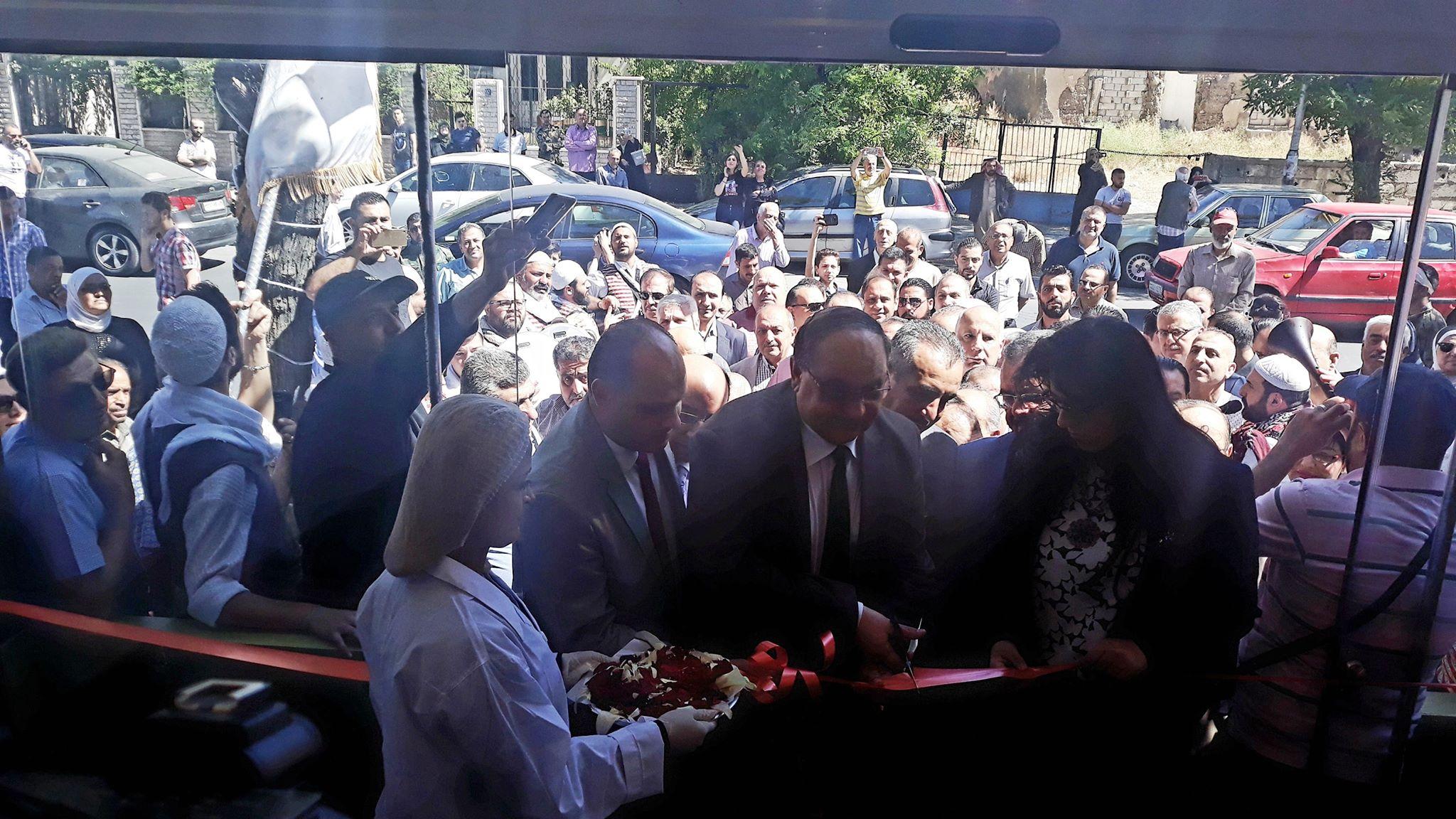 صورة الأولى خارج اللاذقية.. صالة لبيع منتجات مؤسسة المباقر في دمشق