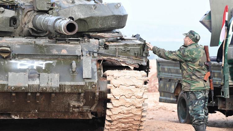 """Photo of الجيش يواصل تقدمه في ريف حماة وطرد """"النصرة"""" إلى عمق إدلب"""