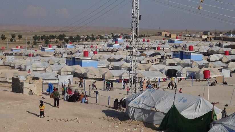 """صورة سقوط 6 ضحايا بين نازحي مخيمات الحسكة بنيران ميليشيا """"قسد"""""""