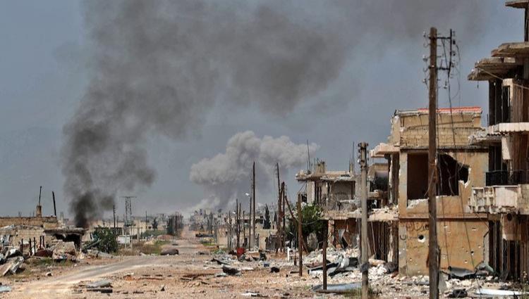 "Photo of ""النصرة"" تنتقم لخسارتها كفرنبودة بقذائف ضد المدنيين.. وقتلى الإرهابيين يلامسون الـ 300"