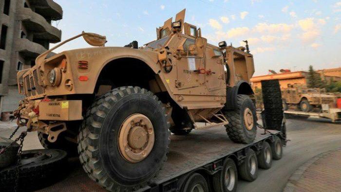 """Photo of """"التحالف الدولي"""" يمد """"قسد"""" بدفعة جديدة من المعدات العسكرية تحت اسم مساعدات"""