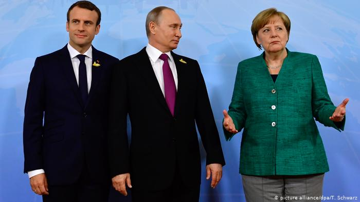 Photo of إدلب محور حديث بوتين مع ميركل وماكرون