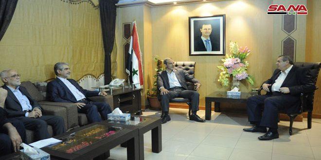 Photo of مباحثات سورية إيرانية لبناء المطاحن وإقامة مشاريع تنموية