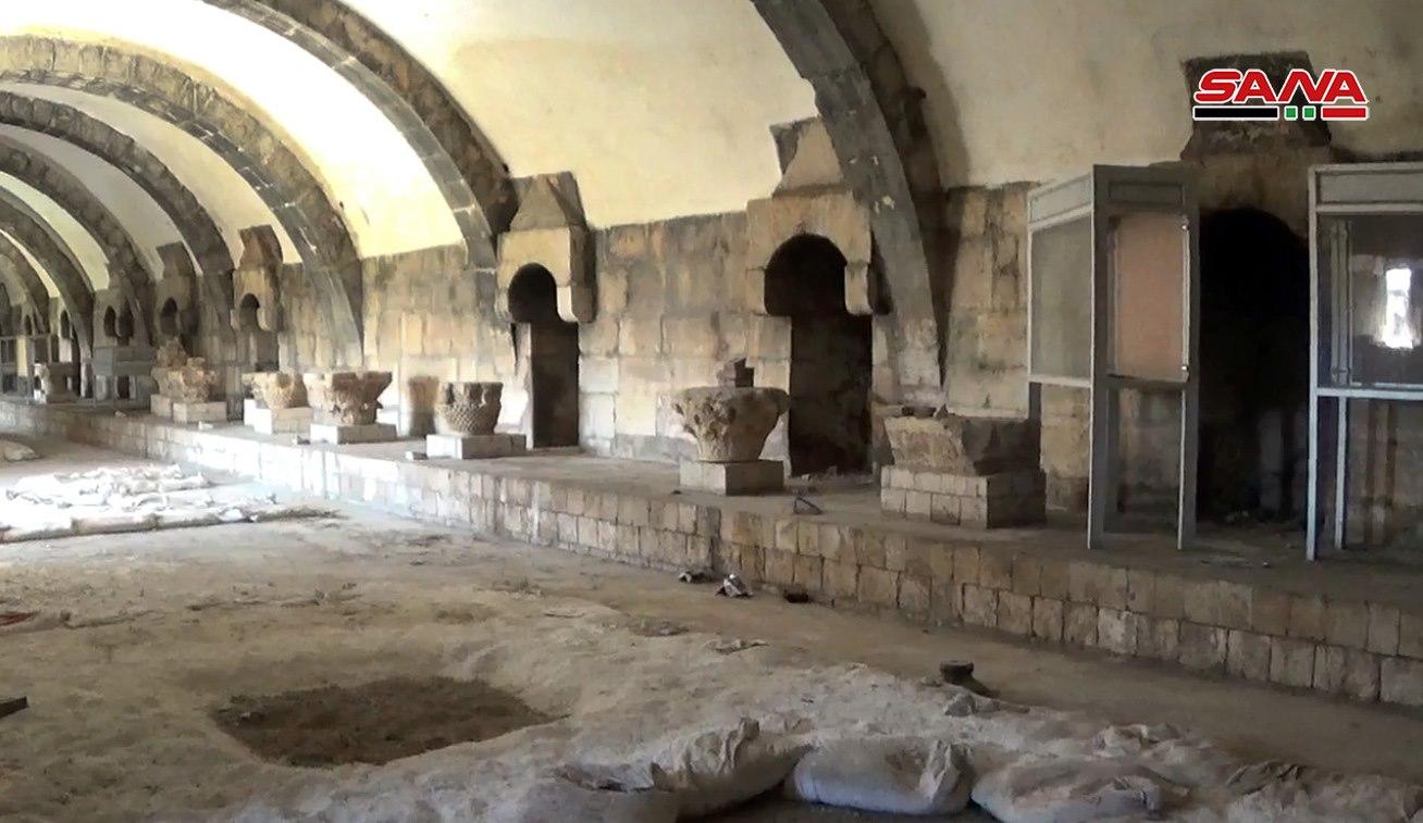 Photo of الإرهاب يدمر معالم مدينة أفاميا الأثرية