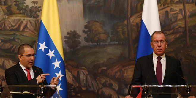 Photo of موسكو تستقبل وزير خارجية فنزويلا وتصعّد لهجتها ضد واشنطن