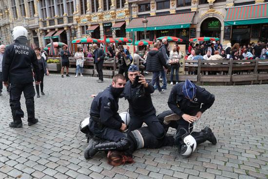 """Photo of """"السترات الصفراء"""" تستعيد وهجها في بروكسل"""