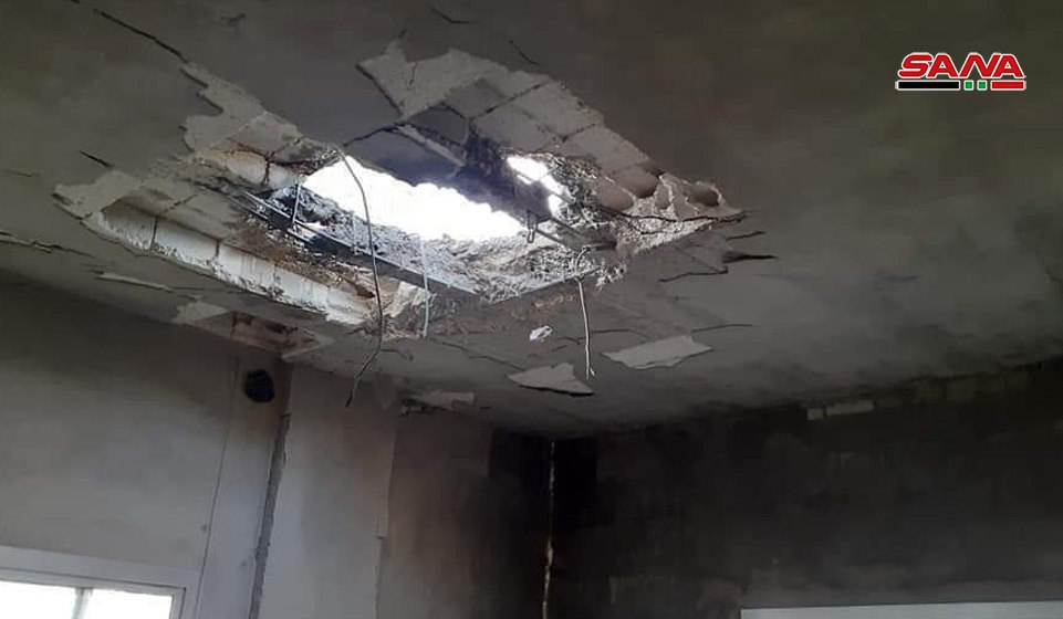 Photo of الإرهابيون يستهدفون قرى ريف اللاذقية بالصواريخ