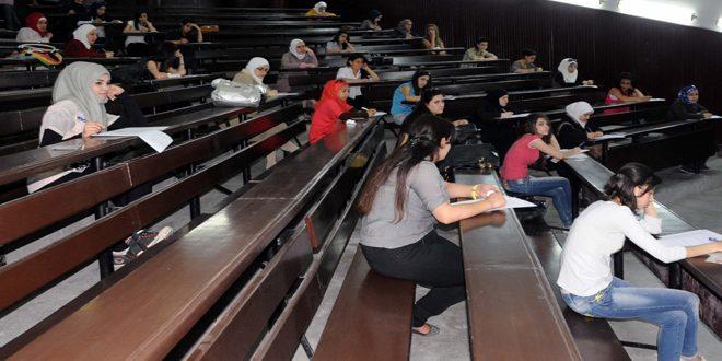 """صورة قباقيبي لـ""""الوطن أون لاين"""": ضبوط الغش في حدودها الدنيا منذ بدء امتحانات جامعة دمشق"""