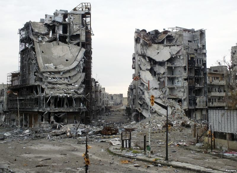 Photo of 840 عقاراً آيلاً للسقوط في حمص