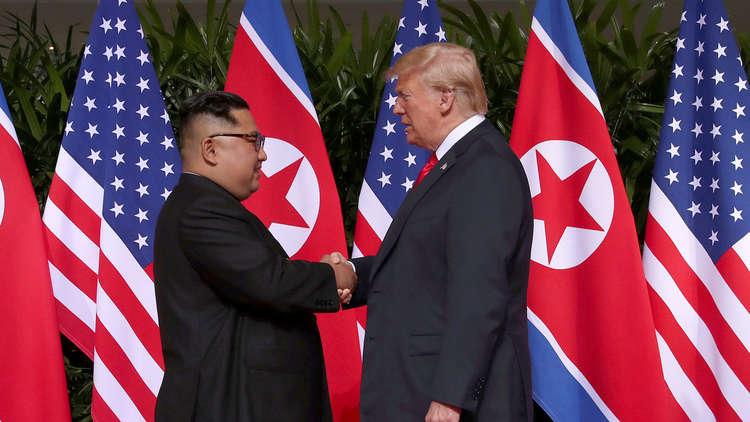 صورة ترامب قد يلتقي الزعيم الكوري الشمالي في خط الفصل بين الكوريتين