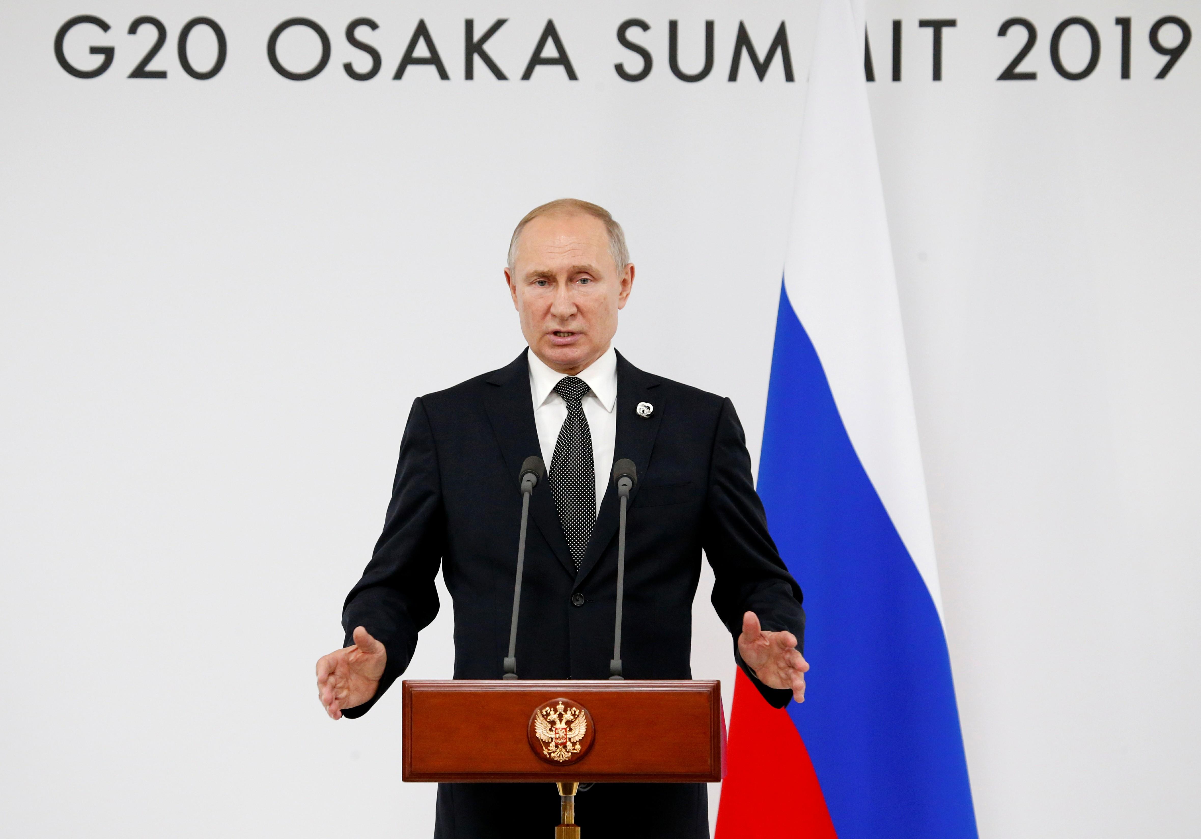 Photo of بوتين من قمة العشرين: لابد من القضاء على بؤر التنظيمات الإرهابية في سورية