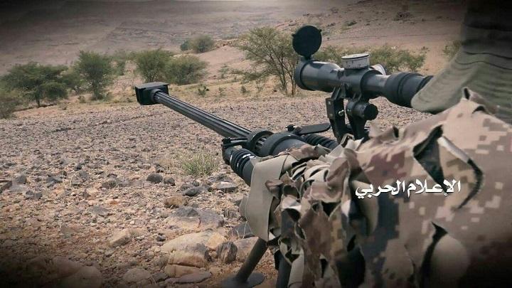 Photo of قناصة الجيش اليمني تردي العشرات بينهم جنود سعوديون