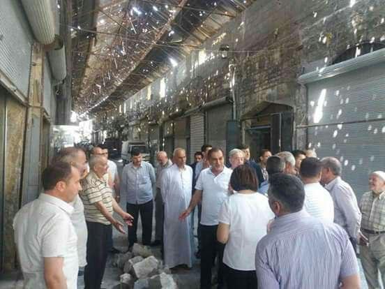 "Photo of أسواق ""حلب القديمة"" محط اهتمام مسؤوليها"