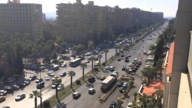 صورة بدء تجربة GPS لمراقبة وسائل النقل العامة في دمشق