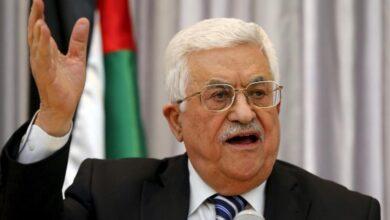 """صورة الرئيس الفلسطيني يوقف العمل بالاتفاقات الموقعة مع """"إسرائيل"""""""