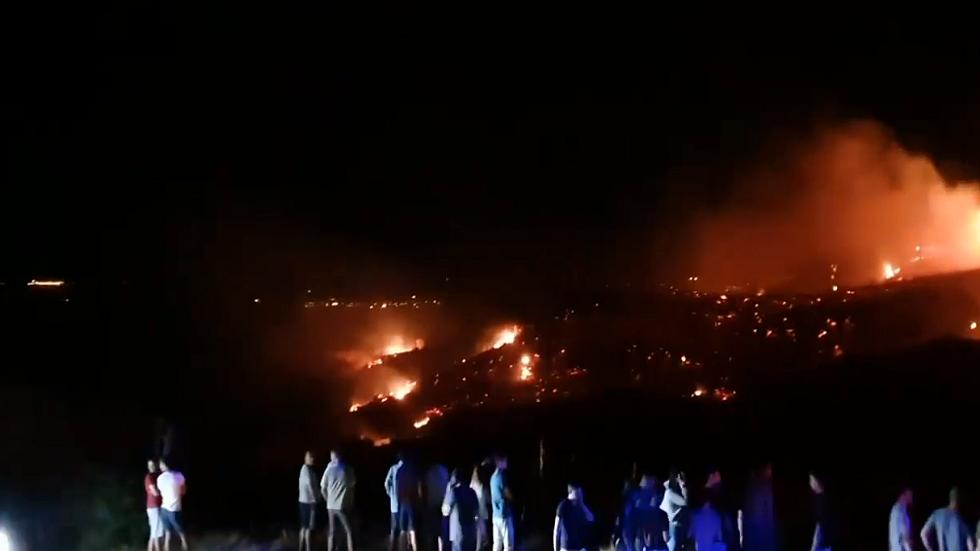 "Photo of تحطم ""جسم حربي طائر"" شمال قبرص بعد عدوان الليلة الماضية"