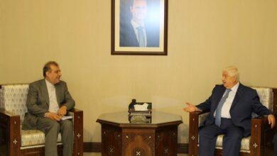 Photo of المعلم يستقبل كبير مساعدي وزير الخارجية الإيراني للشؤون السياسية الخاصة