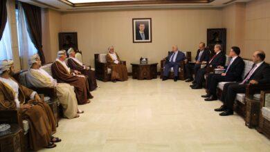 Photo of المعلم يستقبل يوسف بن علوي الوزير المسؤول عن الشؤون الخارجية في سلطنة عمان