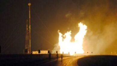 Photo of انفجار في أكبر مصنع للغاز المسال في غربي الجزائر (فيديو)
