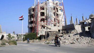 Photo of جرحى من الجيش أثناء ملاحقة إرهابيين بأحزمة ناسفة في ريف درعا