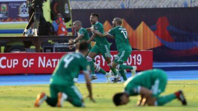 """Photo of """"محاربو الصحراء"""" يخطفون بطاقة التأهل إلى نصف نهائي أمم أفريقيا"""