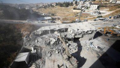 صورة الاحتلال الاسرائيلي يهدم عشرات الشقق السكنية في وادي الحمص قرب القدس