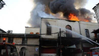 Photo of 25 حريق يومياً في دمشق.. وسلم الإطفائية لا يصل إلا للطابق الثامن