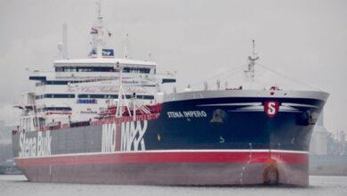 Photo of وصول ناقلة النفط البريطانية التي تحتجزها إيران إلى ميناء بندر عباس