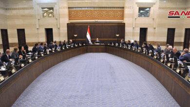 Photo of مجلس الوزراء يستعرض التحضيرات النهائية لإطلاق الدورة الـ 61 لمعرض دمشق الدولي