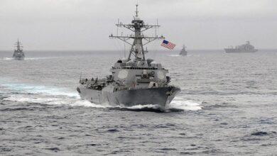 صورة الصين ترفض دخول سفينة حربية أمريكية إلى ميناء تشينغداو