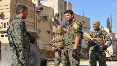 """صورة ميليشيا """"قسد"""" تقتحم قرى بريف الحسكة مدعومة بقوات احتلال أمريكية"""