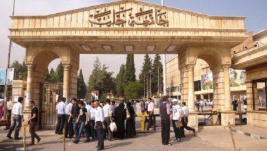 "Photo of نصف عمداء كليات جامعة حلب ""جدد"""