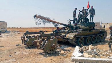 Photo of الجيش السوري يشتبك مع فلول داعش في بادية حماة الشرقية ويدك «النصرة» بريف إدلب