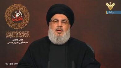 "Photo of نصر الله: ردنا على ""إسرائيل"" أمر محسوم وسيكون من لبنان"