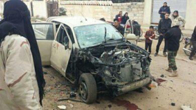 "Photo of ملثمون يقتلون عنصرين من ""النصرة"" في حارم"