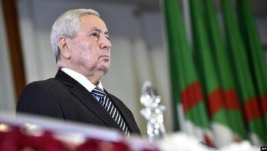 Photo of الرئيس الجزائري المؤقت يحدد موعد الانتخابات الرئاسية