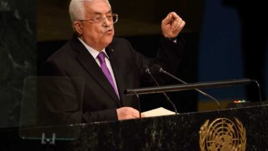 """صورة الرئيس الفلسطيني """"يهدّد"""" بإنهاء كل الاتفاقات الموقعة مع الاحتلال"""