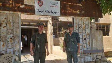 Photo of إلقاء القبض على أفراد عصابة سرقة في الرستن بريف حمص