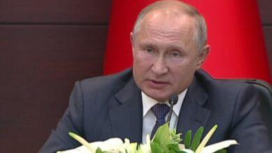 "Photo of بوتين في ختام ""قمة أنقرة"": الوجود الأمريكي في سورية غير شرعي ومستمرون بدعم الجيش السوري"