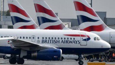 Photo of شلل في الخطوط الجوية البريطانية بسبب إضراب الطيارين