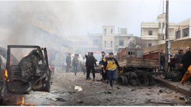 Photo of 10 ضحايا بانفجار كبير في مدينة الراعي شمال حلب
