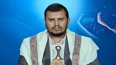 Photo of الحوثي: إذا استمر العدوان والحصار فانتظروا عمليات أشد فتكا