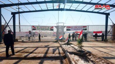 Photo of إنهاء التجهيزات لإعادة افتتاح مركز البوكمال-القائم الحدودي مع العراق