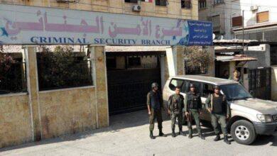"""صورة القبض على سارق سيارات في حلب """"مهووس"""" بـ """"السابا""""!"""
